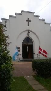 Frente de la capilla