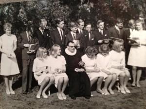 grupo colegio 1966
